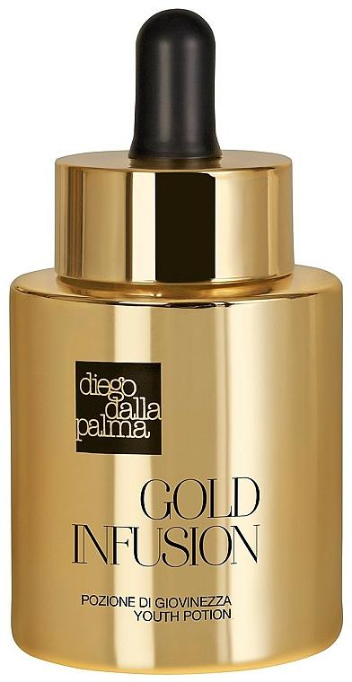"""Sérum """"Tekuté zlato"""" pre mladistvú pleť tváre - Diego Dalla Palma Gold Infusion"""