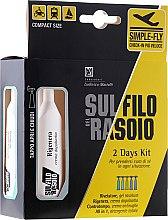 Voňavky, Parfémy, kozmetika Sada - Proraso Sul Filo Del Rasoio 2 Days Kit (gel/10ml + cr/10ml + cr/10ml + treat/2x10ml)