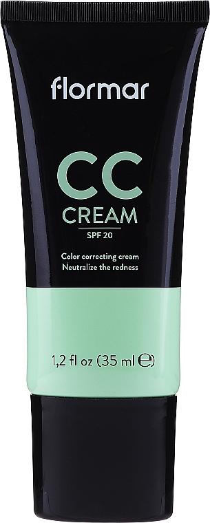 CC krém na zakrytie začervenania na pokožke - Flormar CC Cream Anti-Redness