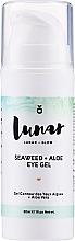 Voňavky, Parfémy, kozmetika Gél na viečka - Lunar Glow Seaweed + Aloe Eye Gel