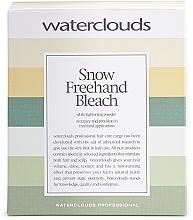Voňavky, Parfémy, kozmetika Púder na odfarbenie vlasov pre balayage - Waterclouds Snow Bleach Freehand