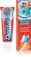 """Voňavky, Parfémy, kozmetika Zubná pasta """"Komplexná ochrana a bielenie"""" - Dental Family Total Whitening"""