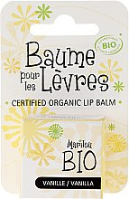 "Voňavky, Parfémy, kozmetika Balzam na pery ""Vanilka"" - Marilou Bio Certified Organic Lip Balm"