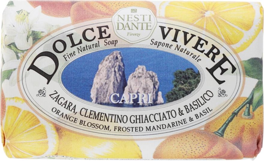 """Mydlo """"Capri"""" - Nesti Dante Dolce Vivere Soap"""