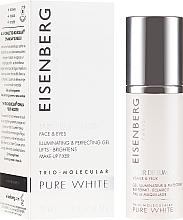 Voňavky, Parfémy, kozmetika Rozjasňujúci elixír na tvár a kontúru očí - Jose Eisenberg Pure White Face & Eyes Illuminating & Perfecting Gel