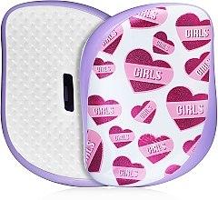Voňavky, Parfémy, kozmetika Kompaktná kefa na vlasy - Tangle Teezer Compact Styler Girl Power