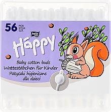 Voňavky, Parfémy, kozmetika Vytové tyčinky s obmedzovačom, 56 ks. - Bella Baby Happy