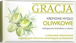 Voňavky, Parfémy, kozmetika Toaletné mydlo s olivovým extraktom - Gracja Olive Cream Soap