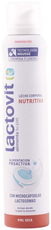 Výživný mušt na telo - Lactovit Original Nourishing Body Milk Mousse — Obrázky N1