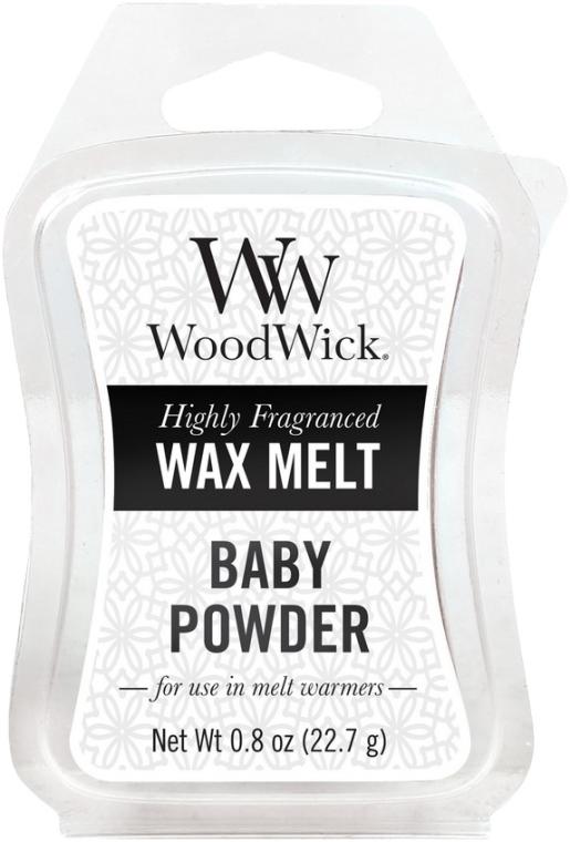 Vonný vosk - WoodWick Wax Melt Baby Powder — Obrázky N1
