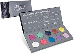 Voňavky, Parfémy, kozmetika Paleta očných tieňov - Affect Cosmetics Provocation Eyeshadow Palette