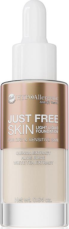 Tónovací fluid - Bell Just Free Skin Light Liquid Foundation
