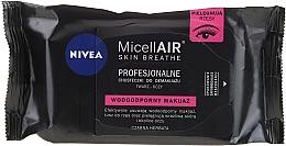 Voňavky, Parfémy, kozmetika Servítky na odstránenia make-upu - Nivea MicellAIR Expert Micellar Makeup Remover Wipes
