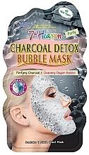 """Voňavky, Parfémy, kozmetika Bublinková maska na tvár """"Drevené uhlie"""" - 7th Heaven Charcoal Detox Bubble Mask"""