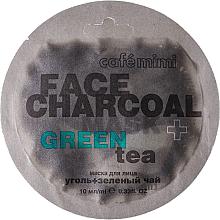 "Voňavky, Parfémy, kozmetika Maska na tvár ""Bambusové uhlie a zelený čaj"" - Cafe Mimi Charkoal & Green Tee Face Mask"