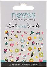 Voňavky, Parfémy, kozmetika Nálepky na dizajn nechtov, 3689, MJ121 - Neess