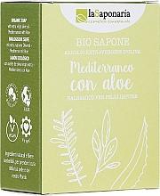 Voňavky, Parfémy, kozmetika Mydlo s výťažkom z aloe a olivovým olejom - La Saponaria Aloe Soap