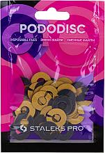 Voňavky, Parfémy, kozmetika Vymeniteľné krúžky do pedikérskeho disku, S, zrnitosť 320 - Staleks