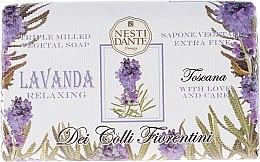 "Voňavky, Parfémy, kozmetika Mydlo ""Lavender"" - Nesti Dante Dei Colli Fiorentini Soap"