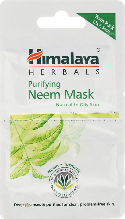 Antibakteriálna maska na tvár - Himalaya Herbals Neem Face Pack