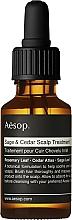 Voňavky, Parfémy, kozmetika Olej na vlasy - Aesop Sage & Cedar Scalp Treatment
