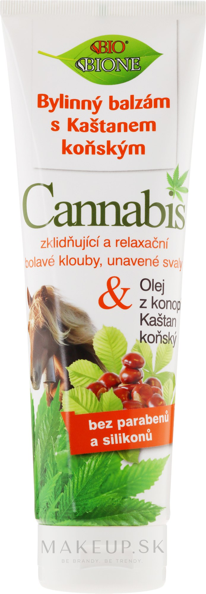 Balzam na nohy - Bione Cosmetics Cannabis Herbal Ointment With Horse Chestnut — Obrázky 300 ml