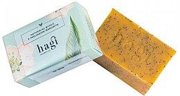 Voňavky, Parfémy, kozmetika Prírodné mydlo s rakytníkovým olejom a makom - Hagi Natural Soap
