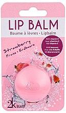 """Voňavky, Parfémy, kozmetika Balzam na pery """"Jahoda"""" - Cosmetic 2K Lip Balm"""