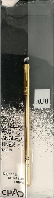 Zkosený štetec na obočie, 210 - Auri Chad Pro Angled Liner Brush