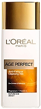 Voňavky, Parfémy, kozmetika Čistiace mlieko na tvár - L'Oreal Paris Age Perfect Anti-Fatigue Cleansing Milk