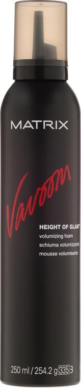 Mušt na vlasy pre ich objem - Matrix Vavoom Height Of Glam Volumizing Foam  — Obrázky N1
