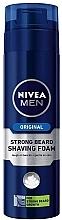 Voňavky, Parfémy, kozmetika Pena na holenie pre tuhé štetiny - Nivea For Men Strong Beard Shaving Foam
