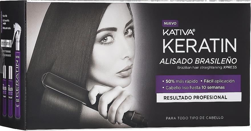 Sada - Kativa Keratin (shm/35ml + cond/35ml + mask/100ml)