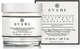 Voňavky, Parfémy, kozmetika Nočná regeneračná a liftingová starostlivosť s morskými riasami - Avant Profusion Algae Regenerative and Tightening Anti-Pollution Night Treatment