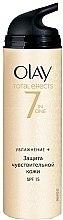 Voňavky, Parfémy, kozmetika Denný hydratačný krém - Olay Total Effects Day Cream Sensitive SPF15