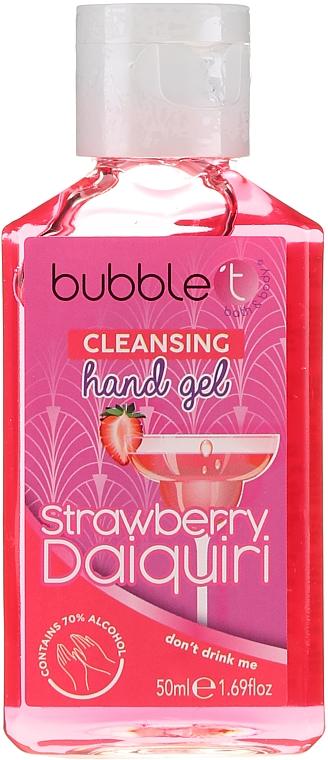 """Antibakteriálny čistiaci gél na ruky """"Jahodové daiquiri"""" - Bubble T Cleansing Hand Gel"""