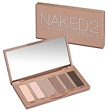 Voňavky, Parfémy, kozmetika Paleta očných tieňov, 6 odtieňov - Urban Decay Naked2 Basics Eyeshadow Palette