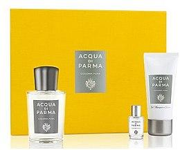 Voňavky, Parfémy, kozmetika Acqua Di Parma Colonia Pura - Sada (edc/100ml + edc/5ml + sh/gel/50ml)