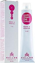 Voňavky, Parfémy, kozmetika Profesionálna krémová farba na vlasy - Kallos Cosmetics Cream Hair Colour
