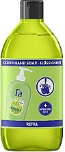 """Voňavky, Parfémy, kozmetika Tekuté mydlo """"Čistota a sviežosť. Limetka a zázvor"""" - Fa Hygiene & Freshness Ginger And Lime Liquid Soap (náhradná jednotka)"""