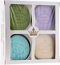 Voňavky, Parfémy, kozmetika Sada - Essencias De Portugal Senses Natural (soap/4x50g) (4 x 50 g)