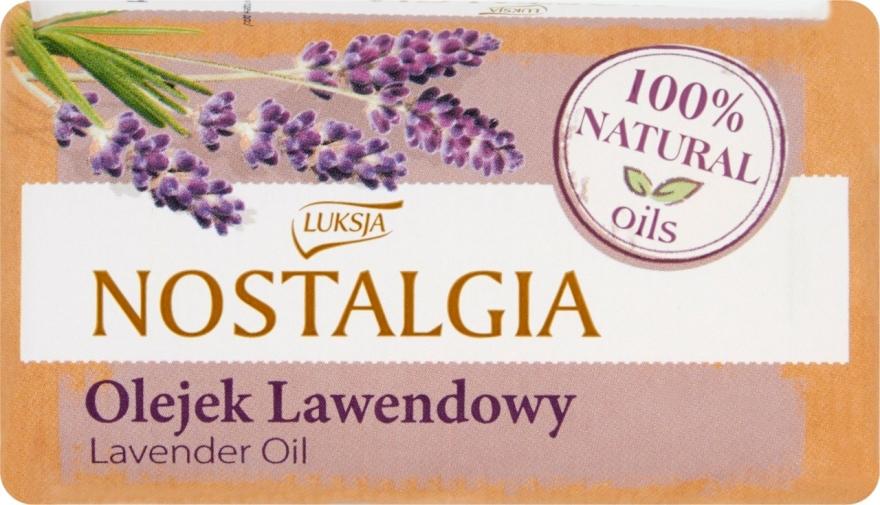 "Mydlo ""Levanduľový olej"" - Luksja Nostalgia Lavender Oil Soap"