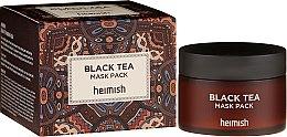 Voňavky, Parfémy, kozmetika Upokojujúca maska na tvár - Heimish Black Tea Mask Pack