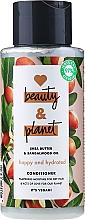 """Voňavky, Parfémy, kozmetika Čistiaci kondicionér na vlasy """"Šťastie a hydratácia"""" - Love Beauty And Planet Gentle Cleansing Conditioner"""