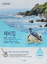 "Voňavky, Parfémy, kozmetika Textilná maska ""Extrakt z lastovičkiného hniezda"" - Esfolio Bird's Nest Essence Mask Sheet"