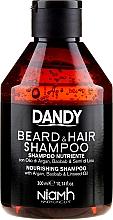 Voňavky, Parfémy, kozmetika Šampón na vlasy a bradu - Niamh Hairconcept Dandy Beard & Hair Shampoo