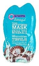 """Voňavky, Parfémy, kozmetika Antistresová maska na tvár """"Minerály z Mŕtveho mora"""" - Freeman Feeling Beautiful Dead Sea Minerals Anti-Stress Mask (mini)"""