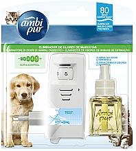 """Voňavky, Parfémy, kozmetika Sada na aromatizáciu """"Obloha"""" - Ambi Pur (diffuser/1szt+refill/21.5ml)"""