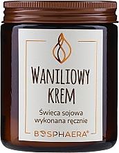 """Voňavky, Parfémy, kozmetika Voňavá sójová sviečka """"Vanilkový krém"""" - Bosphaera Vanilla Cream Candle"""