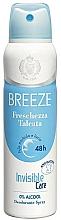 Voňavky, Parfémy, kozmetika Breeze Deo Freschezza Talcata - Dezodorant na telo